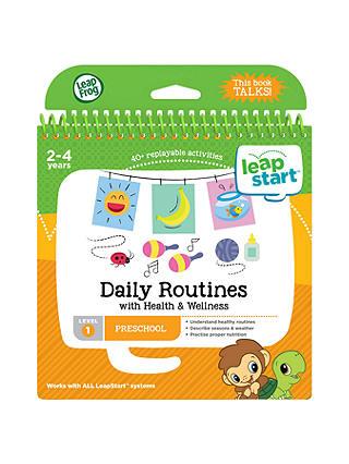 Leapfrog leapstart preschool daily routines activity book