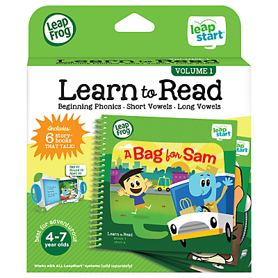 LeapFrog LeapStart Learn To Read Volume One Activity Book