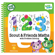 Buy LeapFrog LeapStart Scout And Friends Maths Activity Book Online at johnlewis.com