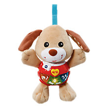 Buy VTech Little Singing Puppy, Brown Online at johnlewis.com