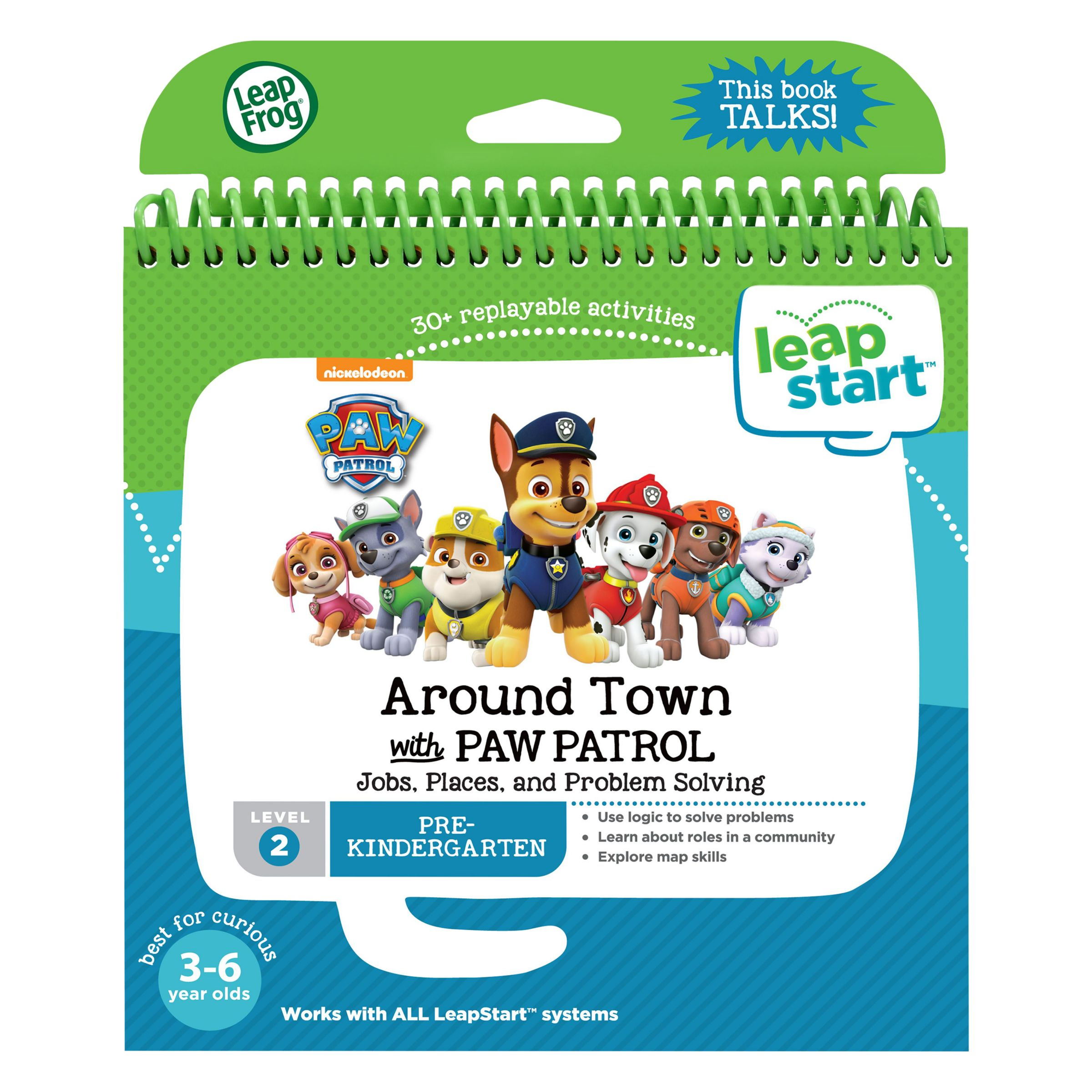 Leapfrog Interactive United States Map.Leapfrog Leapstart Around Town With Paw Patrol Activity Book At John