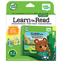 Buy LeapFrog LeapStart Learn To Read Volume Two Activity Book Online at johnlewis.com