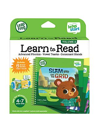 LeapFrog LeapStart Learn To Read Volume Two Activity Book