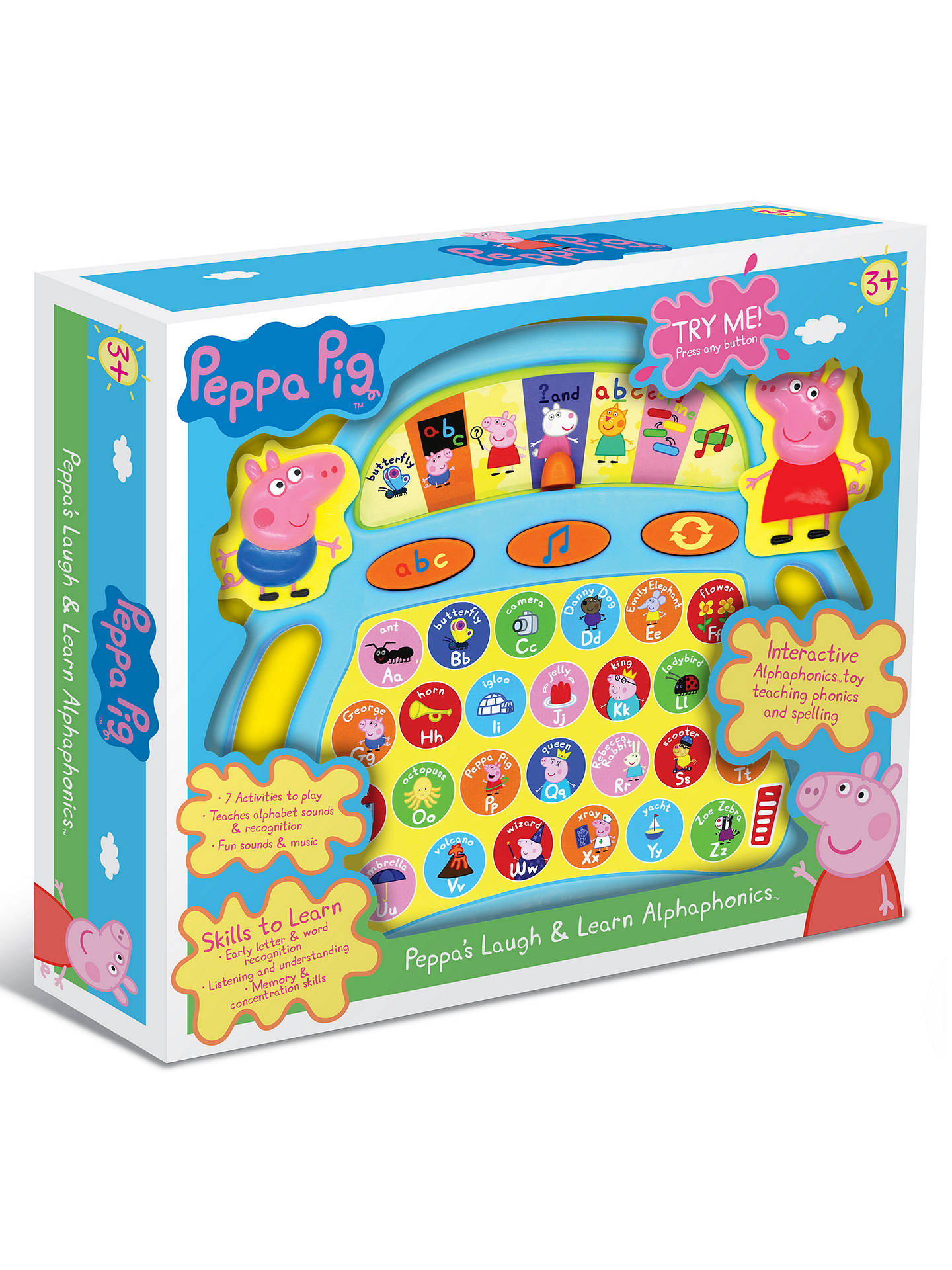 Buy Peppa Pig Laugh and Learn Alphaphonics Online at johnlewis.com