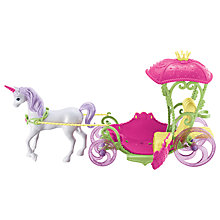 Buy Barbie Dreamtopia Sweetville Carriage Online at johnlewis.com