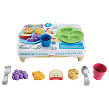 Buy Fisher-Price Laugh & Learn Say Please Snack Set Online at johnlewis.com