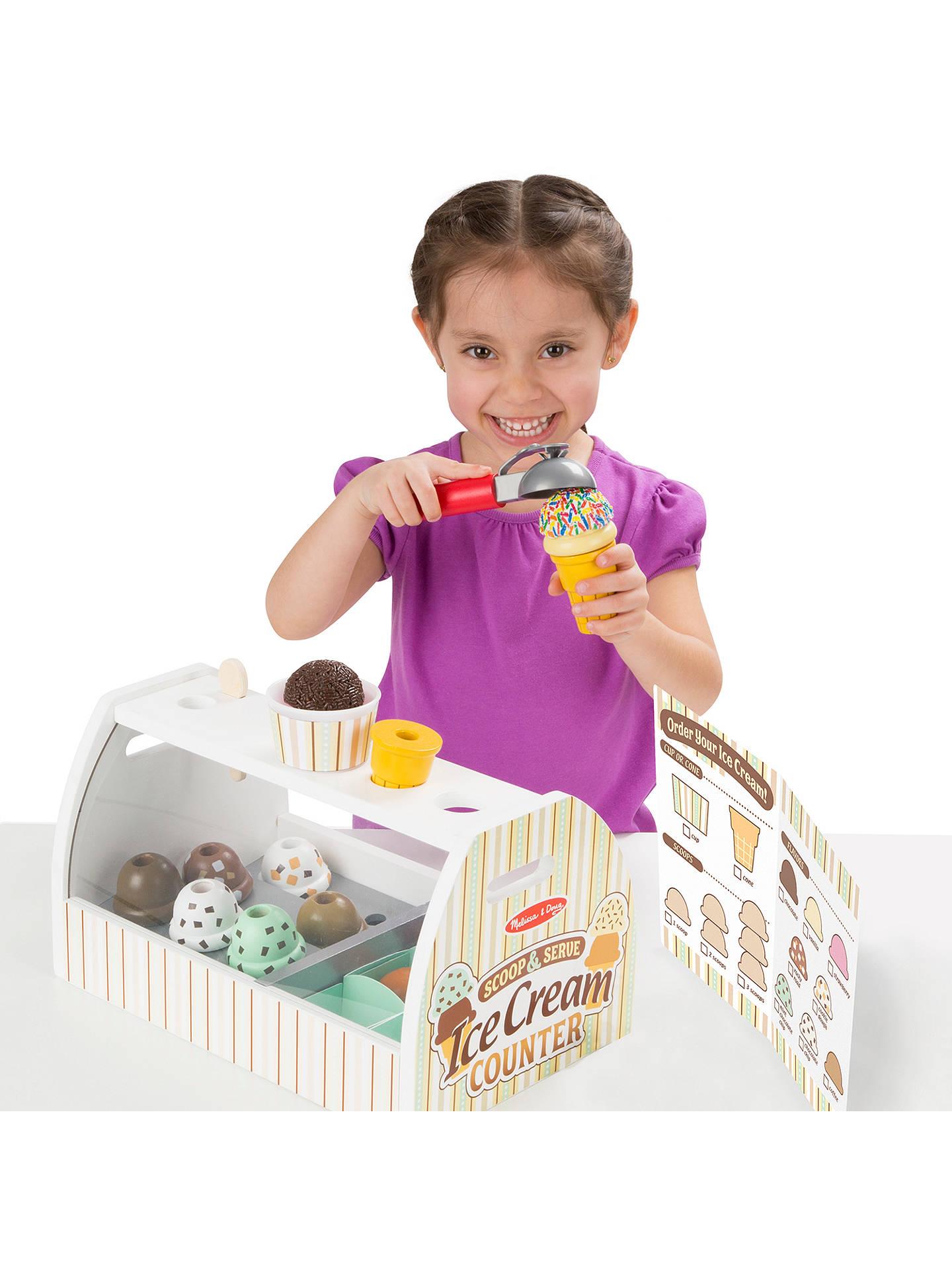 Melissa Doug Scoop And Serve Ice Cream Counter
