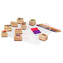Buy Melissa & Doug Friendship Stamp Set Online at johnlewis.com
