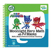 Buy LeapFrog LeapStart Moonlight Hero Maths with PJ Masks Activity Book Online at johnlewis.com