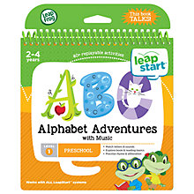 Buy LeapFrog LeapStart Alphabet Adventures Activity Book Online at johnlewis.com