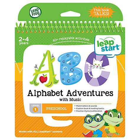 Leapfrog john lewis buy leapfrog leapstart alphabet adventures activity book online at johnlewis gumiabroncs Gallery
