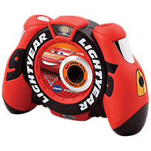 Buy VTech Kidizoom Cars 3 Lightning McQueen Digital Camera Online at johnlewis.com