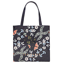 Buy Ted Baker Jeancon Kyoto Gardens Small Icon Shopper Bag, Mid Blue Online at johnlewis.com