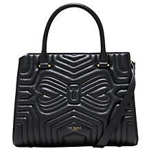 Buy Ted Baker Vieira Leather Quilted Tote Bag Online at johnlewis.com