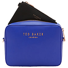Buy Ted Baker Emilii Leather Across Body Bag Online at johnlewis.com