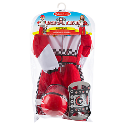 Melissa & Doug Race Car Driver Dress Up Costume