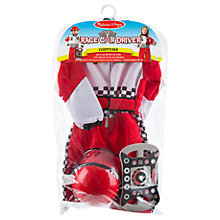 Buy Melissa & Doug Race Car Driver Dress Up Costume Online at johnlewis.com