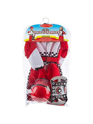 Melissa & Doug Race Car Driver Children's Costume, 3-6 years