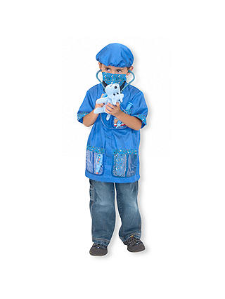 Buy Melissa & Doug Vet Children's Costume, 3-6 years Online at johnlewis.com