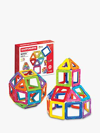 Magformers Standard 30 Piece Construction Set