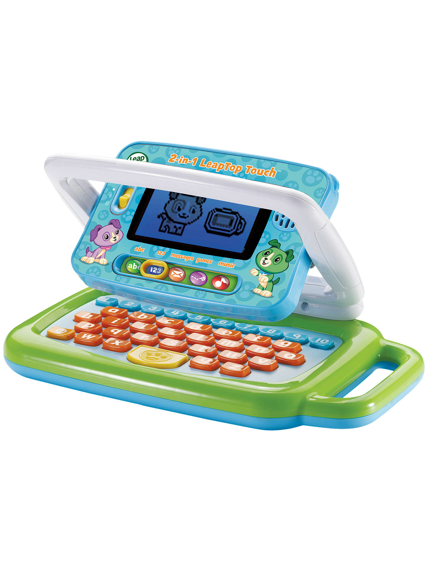 BuyLeapFrog 2 In 1 Leaptop Touch Laptop Green Online At Johnlewis