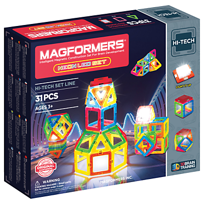 Magformers Neon LED Construction Set