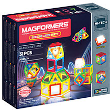 Buy Magformers Neon LED Construction Set Online at johnlewis.com