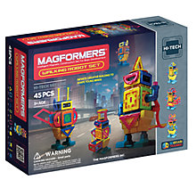 Buy Magformers Walking Robot Set Online at johnlewis.com