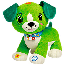 Buy LeapFrog Read With Me Scout, Green Online at johnlewis.com