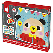 Buy Janod Wooden Magnetic Educational Game Online at johnlewis.com