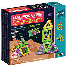 Buy Magformers Space Travel Construction Set Online at johnlewis.com
