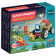 Buy Magformers Jungle Adventure Construction Set Online at johnlewis.com