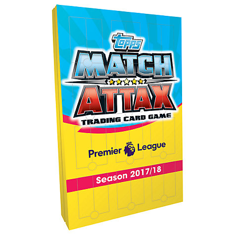 Topps Match Attax Premier League 2018