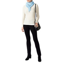 Buy Pure Collection Ultra Fine Cashmere Scarf, Soft Blue Online at johnlewis.com