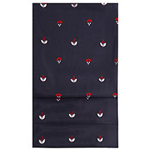 Buy Hobbs Mabel Silk Scarf, Navy/Red Online at johnlewis.com