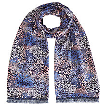 Buy White Stuff Prairie Ditsy Scarf, Midnight Blue Online at johnlewis.com