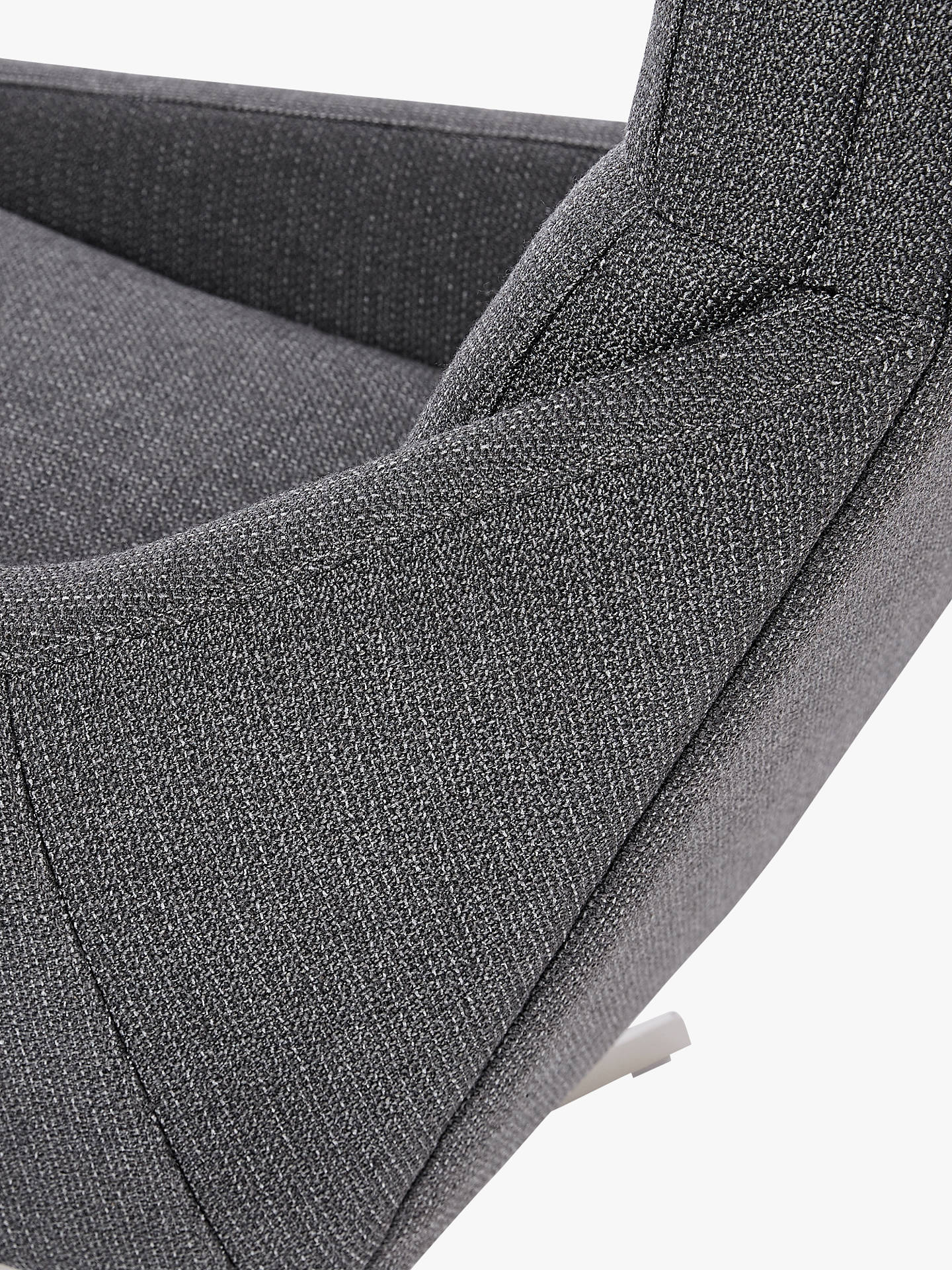Swell West Elm Austin Swivel Chair Mod Weave Grey At John Lewis Theyellowbook Wood Chair Design Ideas Theyellowbookinfo