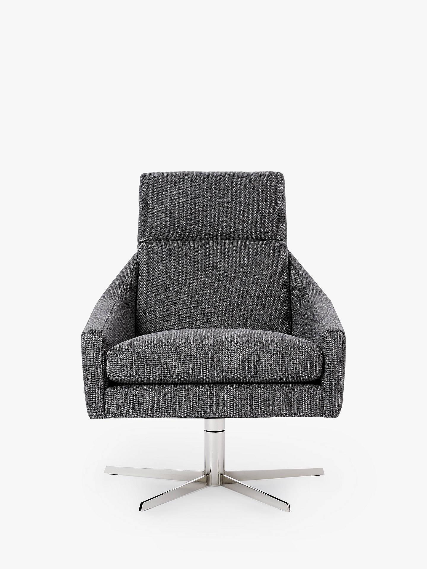Fine West Elm Austin Swivel Chair Mod Weave Grey At John Lewis Theyellowbook Wood Chair Design Ideas Theyellowbookinfo