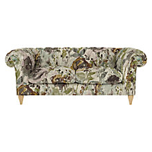 Buy John Lewis Cromwell Chesterfield Large 3 Seater Sofa, Light Leg, Harper Plum Online at johnlewis.com
