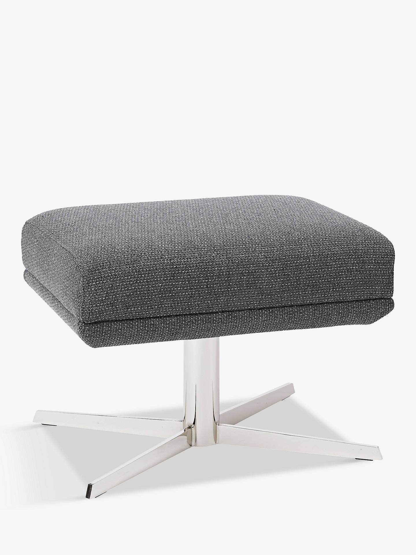 Terrific West Elm Austin Swivel Ottoman Mod Weave Grey Theyellowbook Wood Chair Design Ideas Theyellowbookinfo
