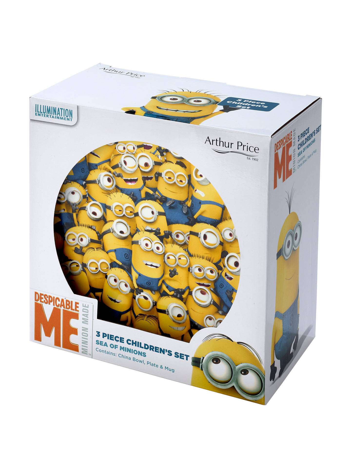 BuyArthur Price Despicable Me China Set, 3 Piece Online at johnlewis.com