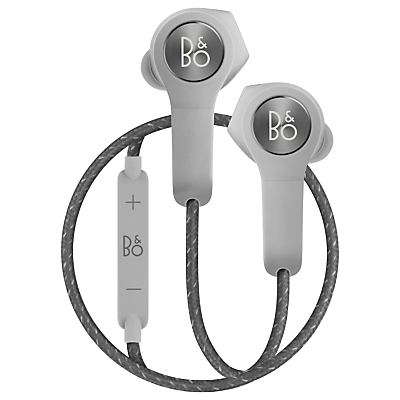 B&O PLAY by Bang & Olufsen Beoplay H5 Wireless In-Ear Headphones with Ear Fins