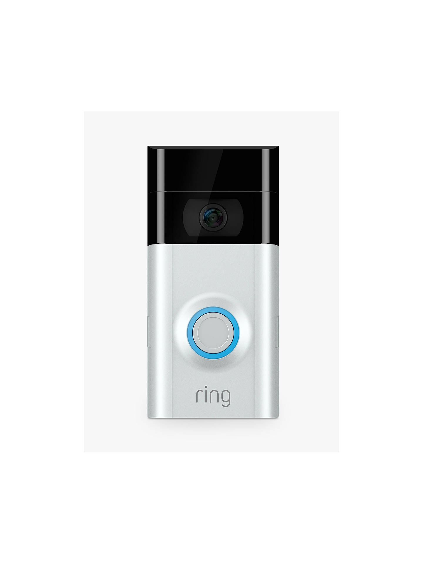 Wireless HD Live Video Door Bell Surface Mount Audio Recording Motion Activated