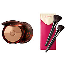 Buy Guerlain Terracotta Sun Trio, Light Bronze with Free Makeup Brush Set Online at johnlewis.com