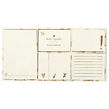 Buy kate spade new york Gold Dot Flamingo Sticky Notes Online at johnlewis.com