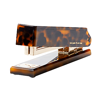 kate spade new york Tortoise Stapler