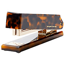 Buy kate spade new york Tortoise Stapler Online at johnlewis.com