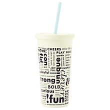 Buy kate spade new york What Do You Say Tumbler Online at johnlewis.com