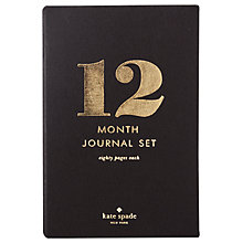 Buy kate spade new york Spot On 12 Month Journal Online at johnlewis.com
