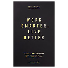 Buy kikki.K Work Smarter Live Better Book Online at johnlewis.com